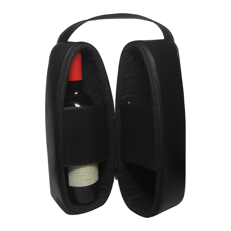 Leather Double Wine & Champaign Carrier